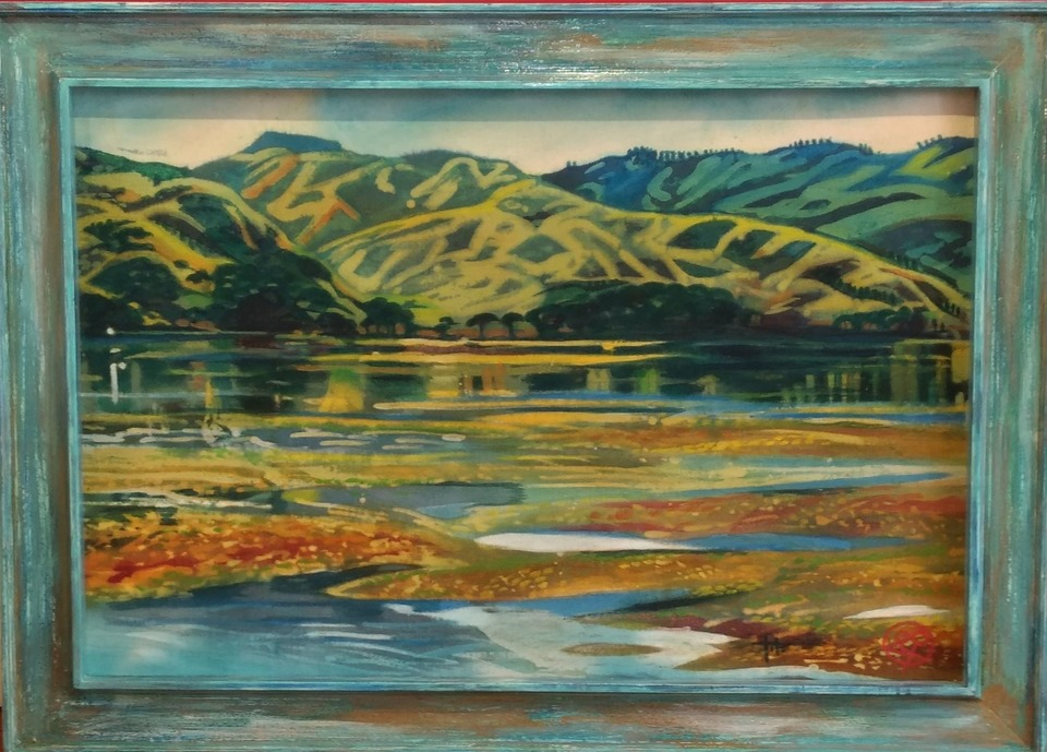 'Pauatahanui Inlet' by Joy de Geus (SOLD)