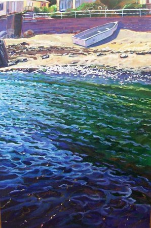 'Shoreline Island Bay' by Michael McCormack (SOLD)