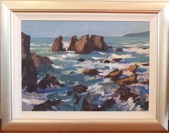 'Kaipakati Point' by Brian Badcock (SOLD)