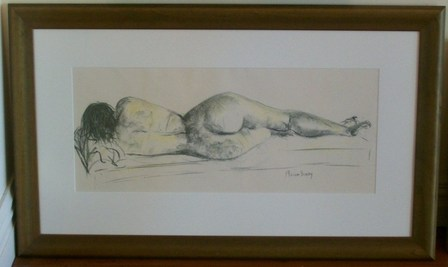 'Nude Study' by Miriam Busby (SOLD)