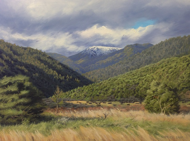 'Otaki Forks' by Sam Earp (SOLD)