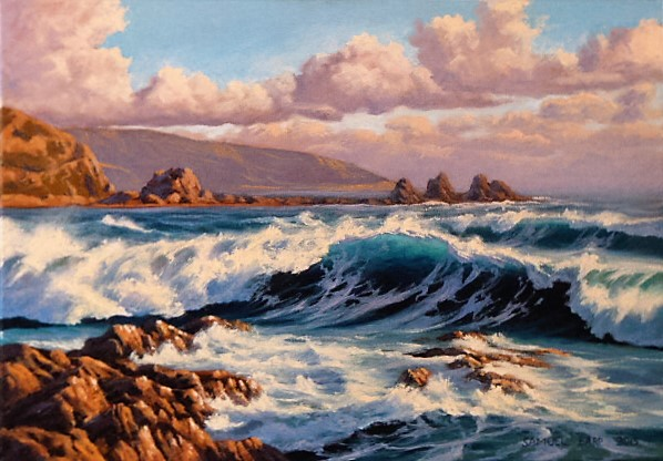 'Wild Houghton Bay' by Sam Earp (SOLD)