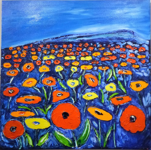 'Field of Flowers 2' by Vincent Duncan (SOLD)