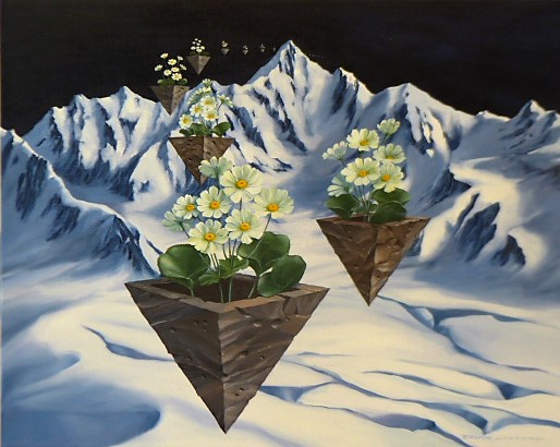 'Mountain Pots' by Bruce Luxford