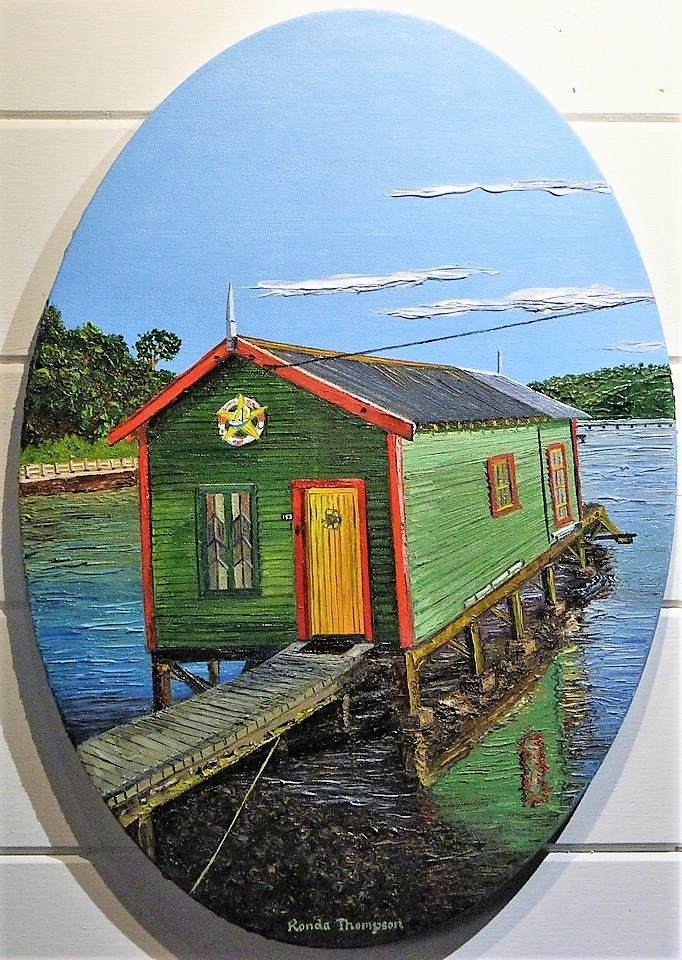 'Havana Boat Shed' by Ronda Thompson