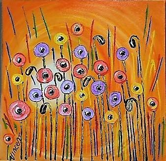 'Tall Poppies' by Vincent Duncan (SOLD)