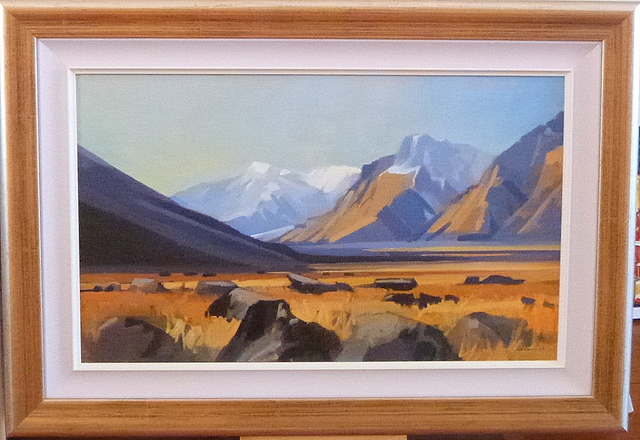 'Tasman Valley' by Brian Badcock (SOLD)