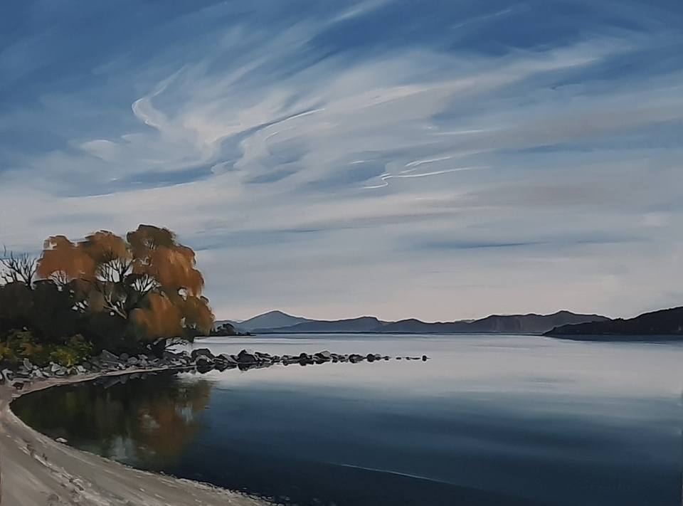 'Taupo Bay 1' by Graham Moeller