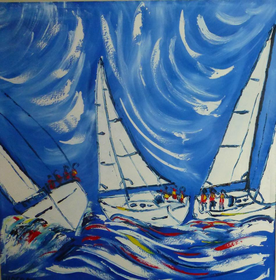 'Sailing' by Vincent Duncan (SOLD)