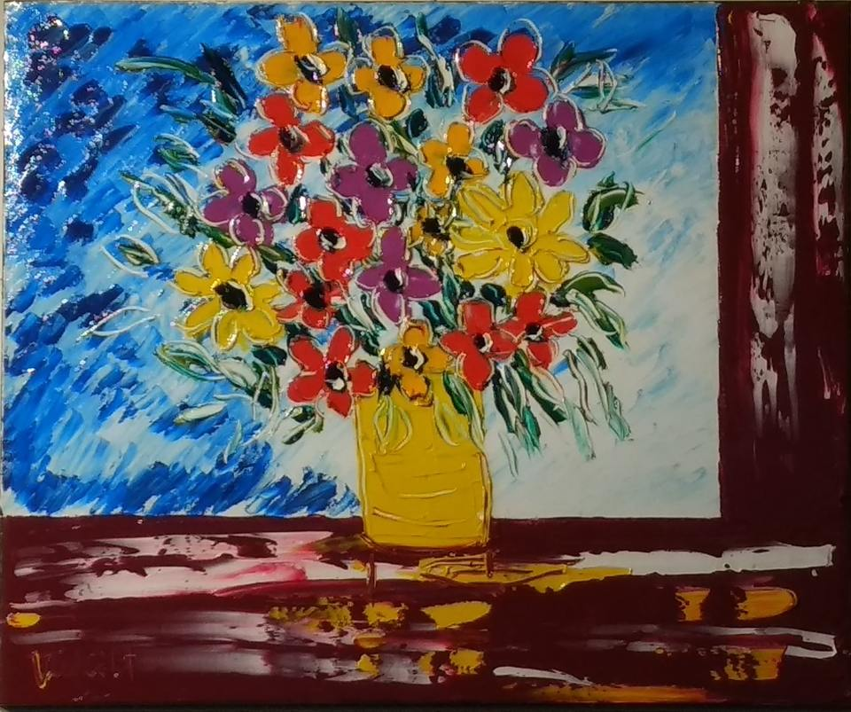 'Table Flowers' by Vincent Duncan (SOLD)