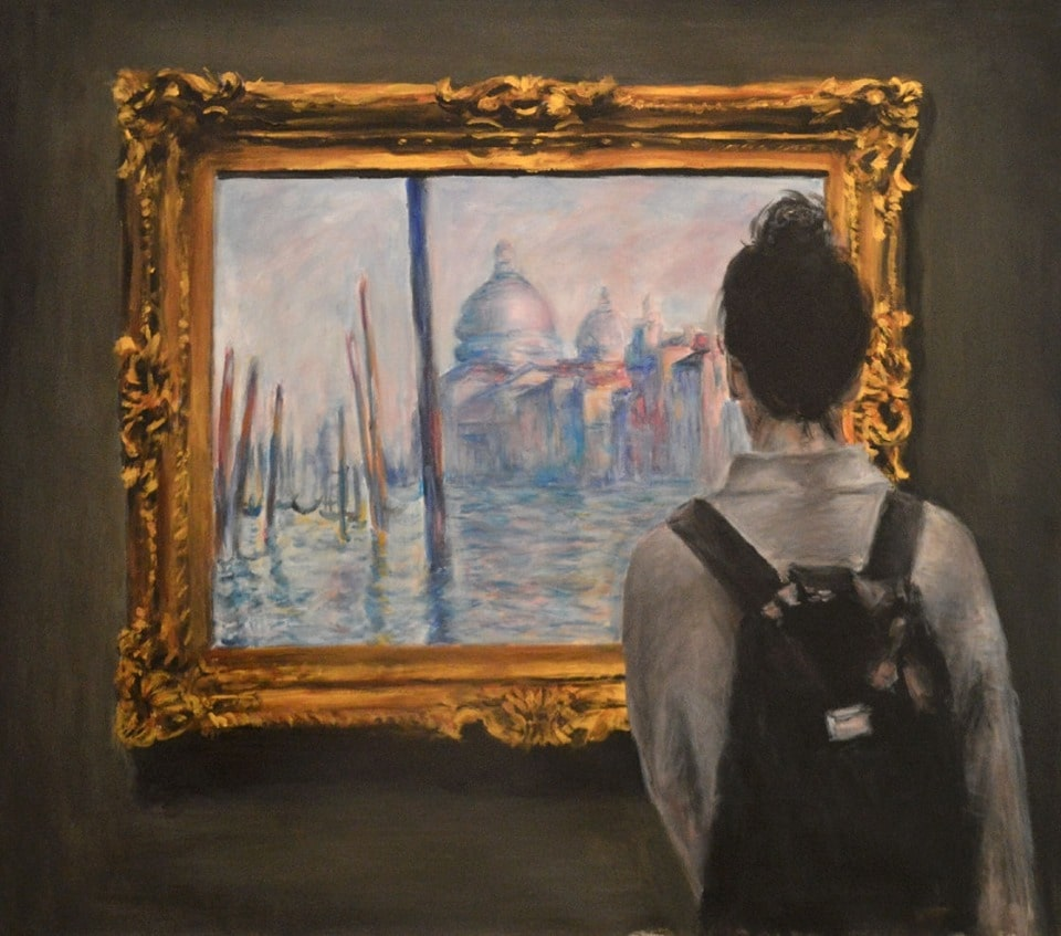 'Watching Monet Venice' by Escha van den Bogerd