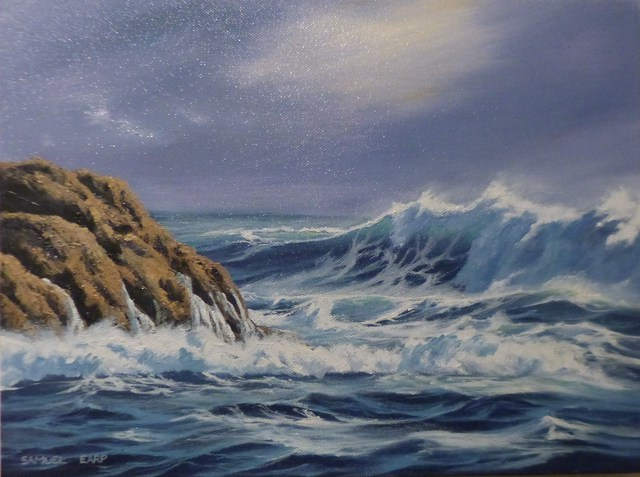 'Wave Break' by Sam Earp (SOLD)