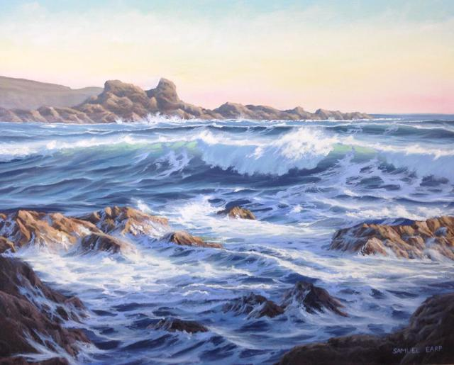 'Wave Study No 2' by Sam Earp (SOLD)