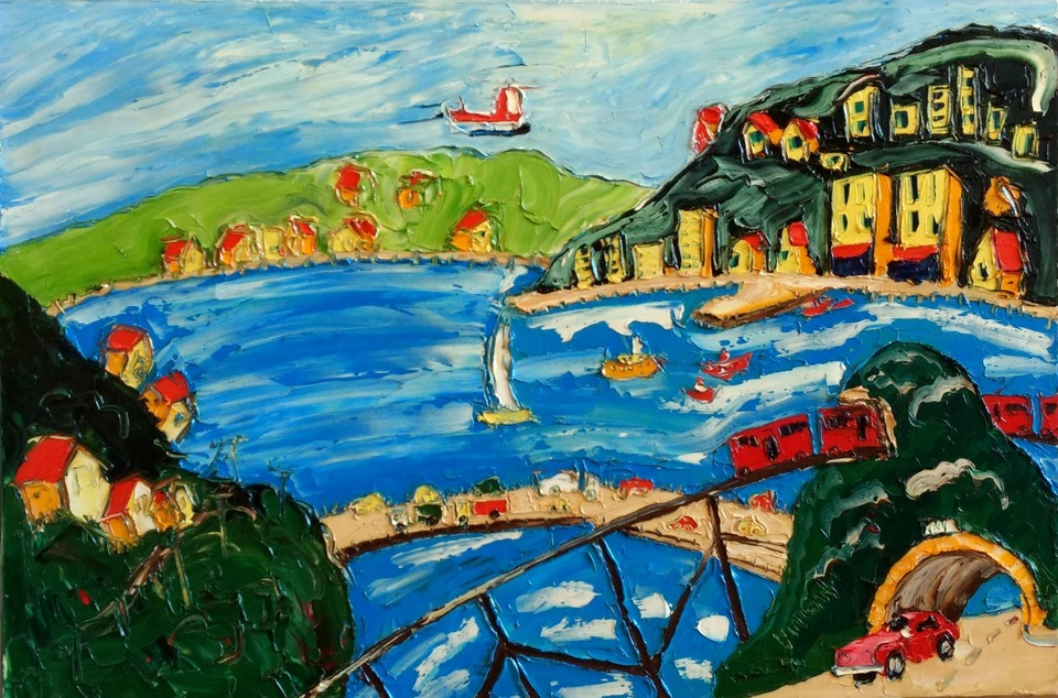 'Wellington View' by Vincent Duncan (SOLD)