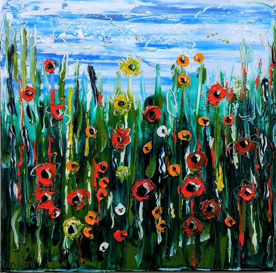 'Wild Flowers' by Vincent Duncan (SOLD)