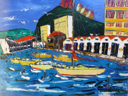 'Chaffers Marina' by Vincent Duncan (SOLD)