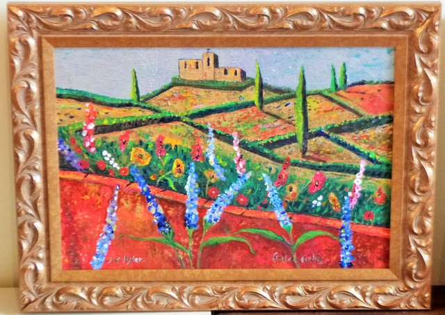 'French Fields' by Jane Hyder (SOLD)