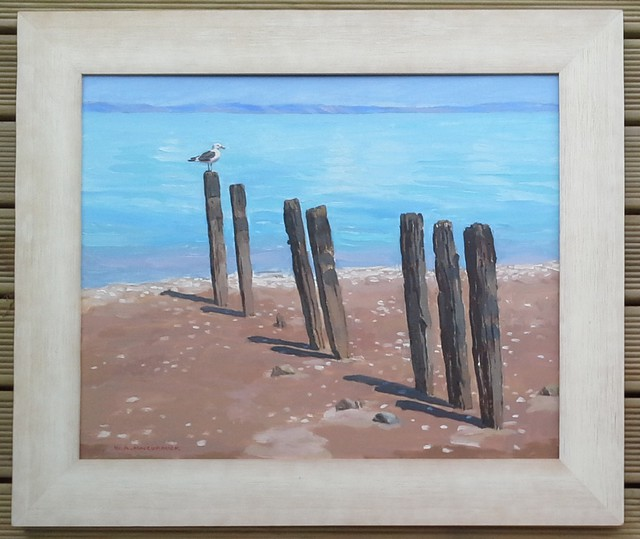 'Old Posts' by Bill MacCormick (SOLD)
