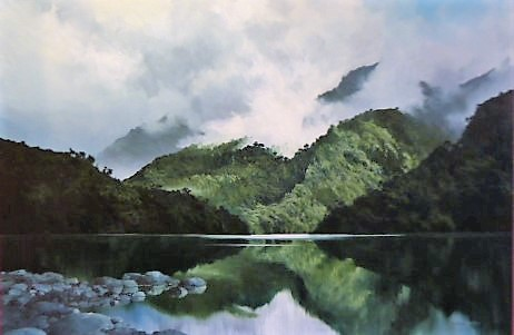 'Fiordland 2' by Graham Moeller (SOLD)