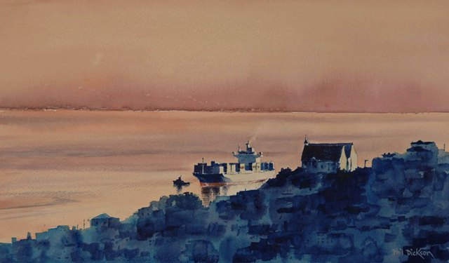 'First Light' by Phil Dickson (SOLD)