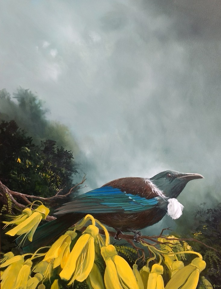 'Mr Tui' by Graham Moeller (SOLD)