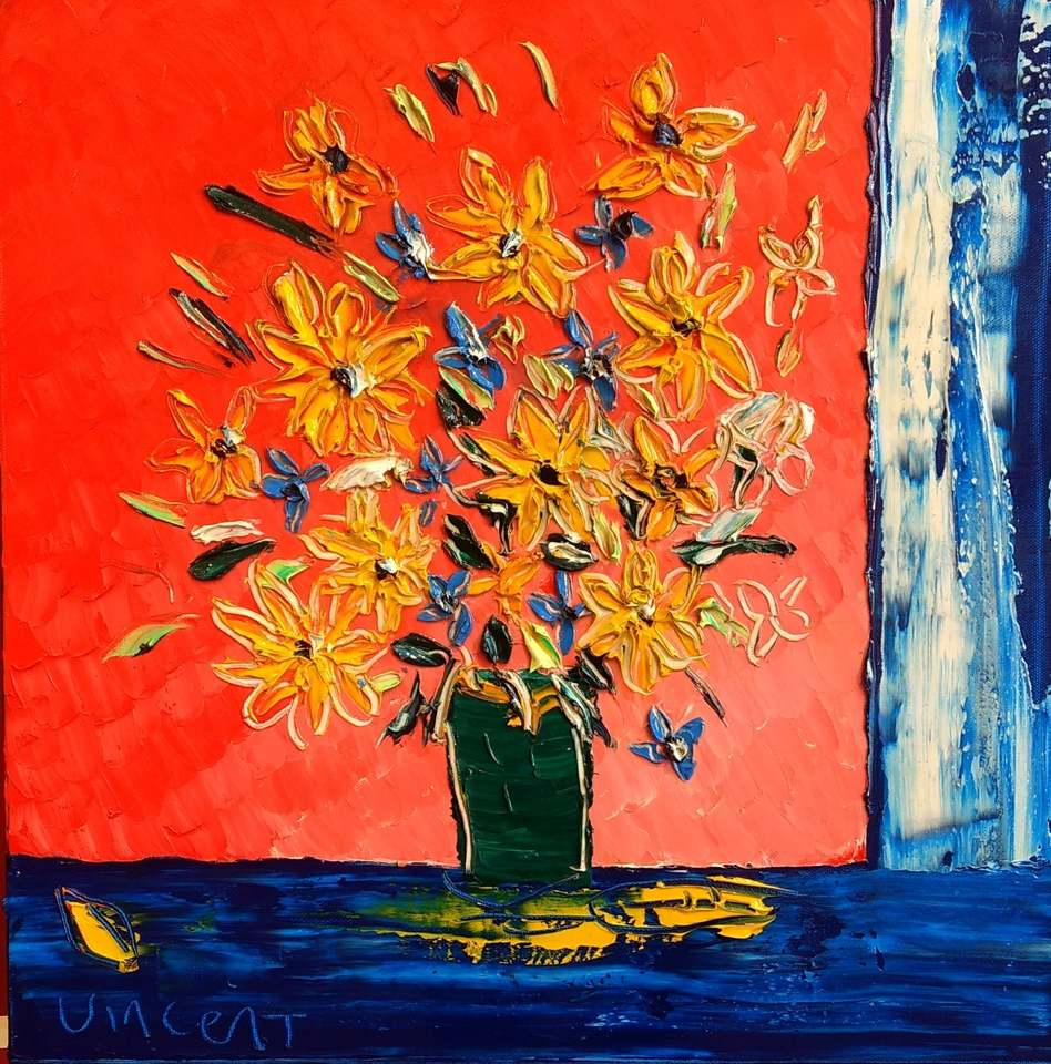 'Table Flowers No 5' by Vincent Duncan (SOLD)