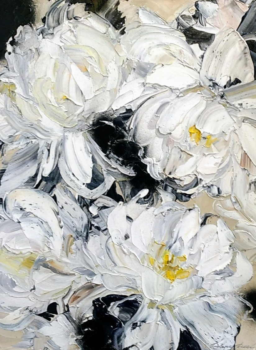 'Flower Abstract No 5' by Diana Peel