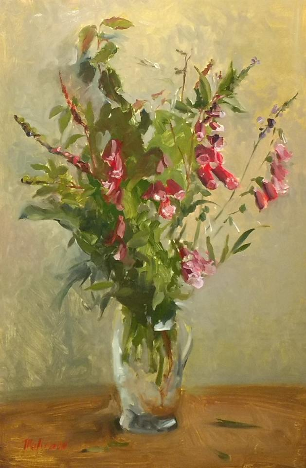 'Lost Foxgloves' by Tatyana Kulida
