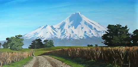 'Mt Taranaki 2' by Graham Moeller