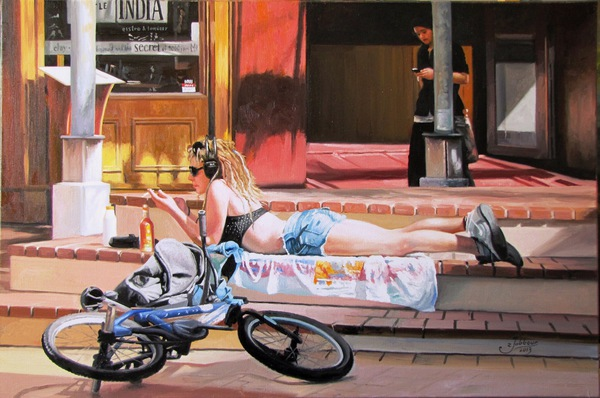 'My Space Cuba Mall' by Zad Jabbour (SOLD)