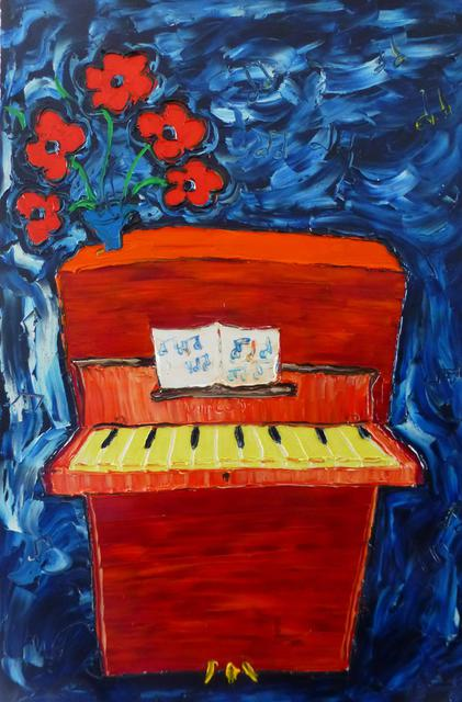 'Our Piano' by Vincent Duncan (SOLD)