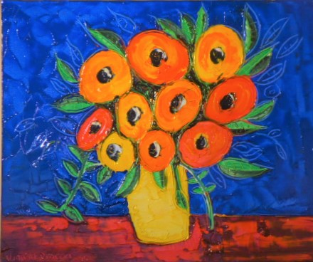 'Table Flowers No 4' by Vincent Duncan (SOLD)