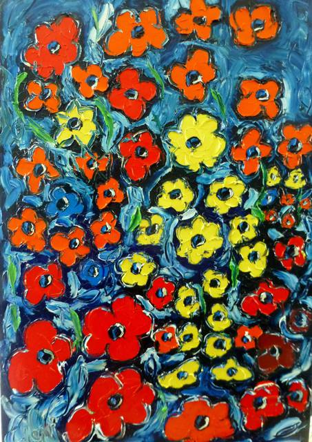 'Pick a Flower' by Vincent Duncan (SOLD)
