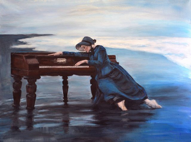 'The Piano' by Escha van den Bogerd (SOLD)