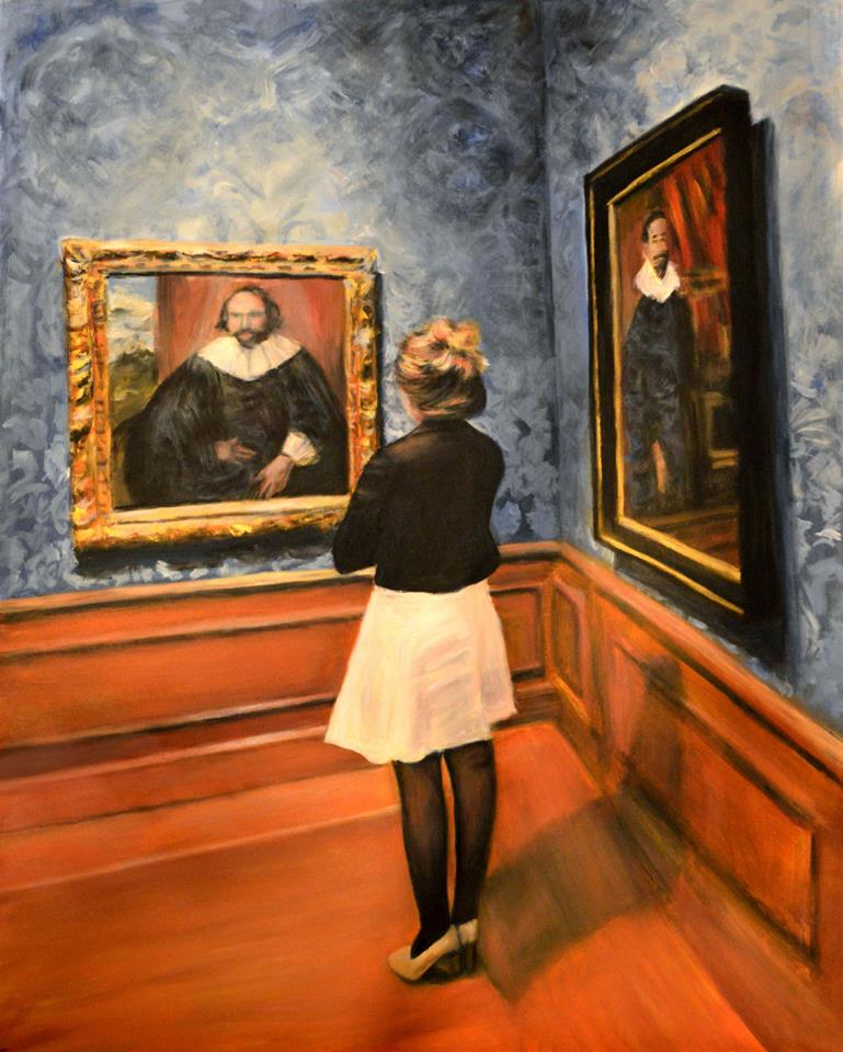 'Watching Dutch Old Masters' by Escha van den Bogerd