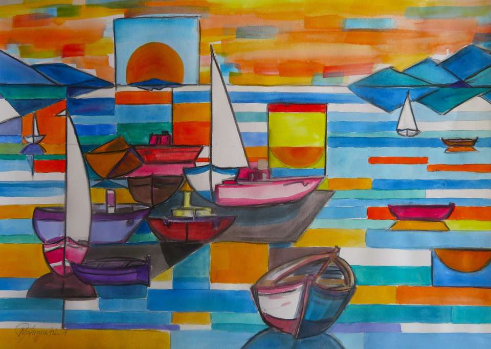 'Kapiti Boats 1' by Peter Augustin