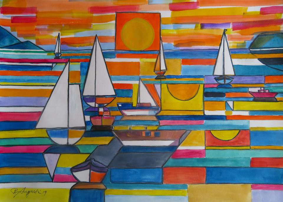 'Kapiti Boats 2' by Peter Augustin