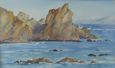 Heading Home (Sinclair Head) by Jan Thomson