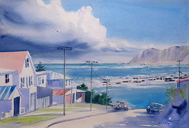 'Towards Island Bay' by Alfred Memelink