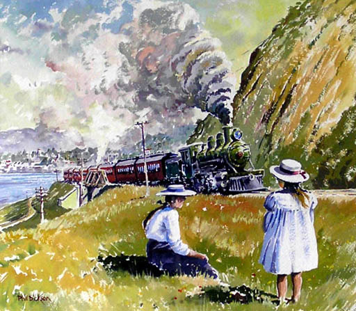 'Summer day 1907' by Phil Dickson