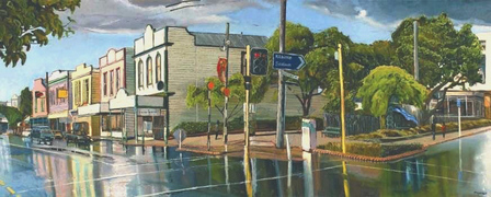 Newtown after the Rain by Michael McCormack