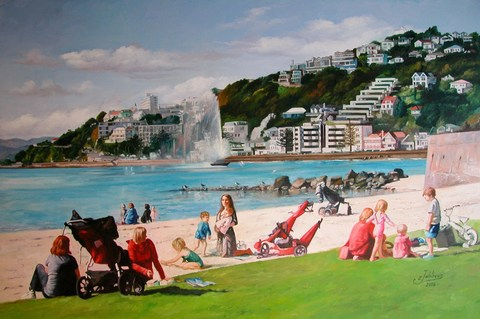 Oriental Bay by Zad Jabbour
