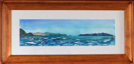'View to Kapiti Island' by Joy de Geus