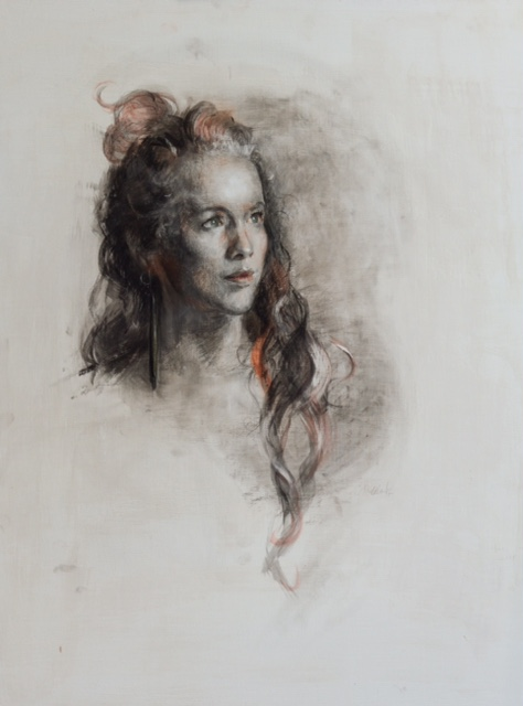 Tatyana Kulida oil portrait example 3