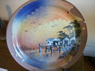 Plate by Roger Bagshaw