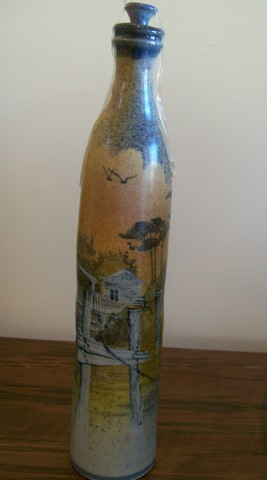 Bottle 2 by Roger Bagshaw (SOLD)